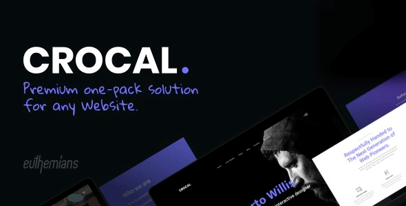 Crocal 1.4.6 – Responsive Multi-Purpose WordPress Theme