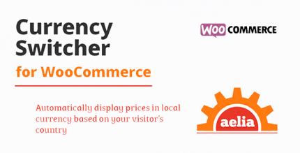 Aelia Currency Switcher for WooCommerce 4.10.1.210406