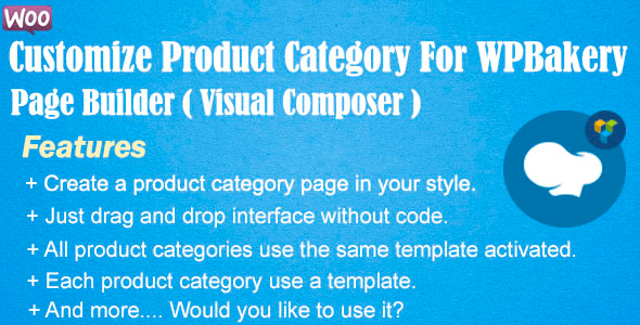 Customize Product Category For WPBakery Page Builder 3.1.0