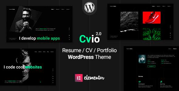 Cvio 2.0.6 – Resume WordPress Theme