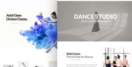 Dancing Academy 1.1.3.1 – Dance WordPress Theme