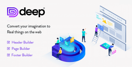 Deep 4.4.0 NULLED – Creative Multi-Purpose WordPress Theme