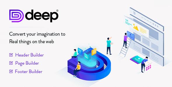 Deep 4.5.7 NULLED – Creative Multi-Purpose WordPress Theme