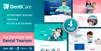 DentiCare 1.0.8 – Medical, Dentist & Dental Clinic