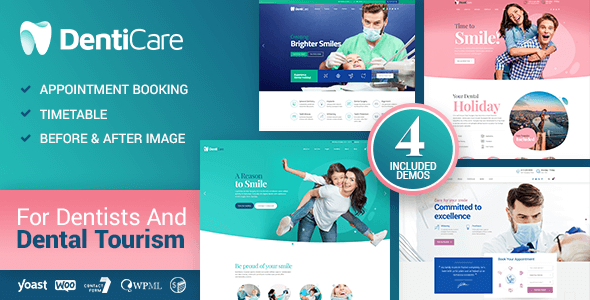 DentiCare 1.1.1 – Medical, Dentist & Dental Clinic