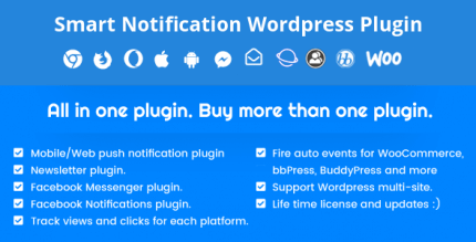 Desktop & Mobile Push Notification System WordPress Plugin 9.3.0 NULLED