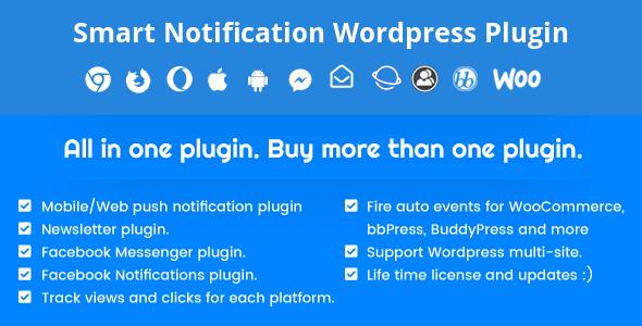 Desktop & Mobile Push Notification System WordPress Plugin 9.3.3 NULLED