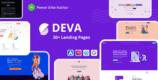 Deva 1.1.1 – Landing Page WordPress Theme