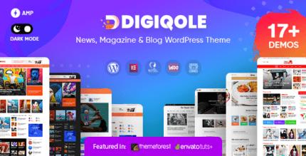 Digiqole 2.0.1 – News Magazine WordPress Theme