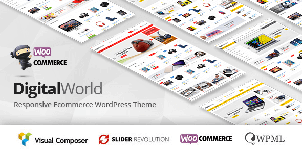 Digitalworld 1.2.9 – Multipurpose WordPress Theme