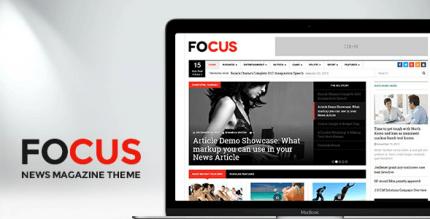 DW Focus 1.3.4 – Modern Lightweight News Magazine theme
