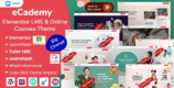eCademy 4.7 NULLED – Elementor LMS & Online Courses Theme