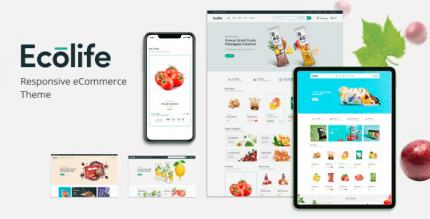 Ecolife 1.0.3 – Organic WooCommerce WordPress Theme