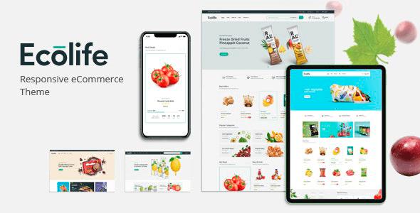 Ecolife 1.0.4 – Organic WooCommerce WordPress Theme