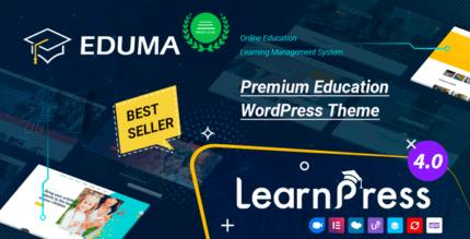 Eduma 4.4.7 NULLED – Education WordPress Theme