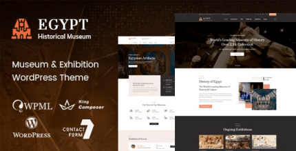 Egypt 1.4 – Museum & Exhibition WordPress Theme