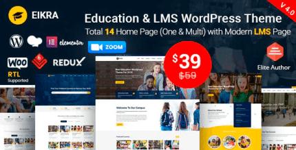 Eikra 4.4.1 – Education WordPress Theme