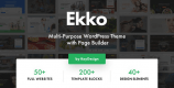 Ekko 2.7 NULLED – Multi-Purpose WordPress Theme with Page Builder