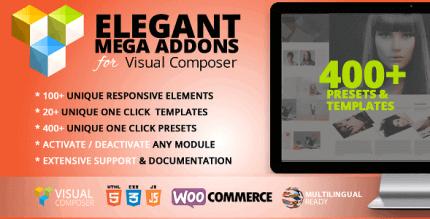 Elegant Mega Addons for Visual Composer 3.1.9