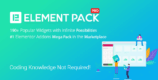 Element Pack 5.7.7 NULLED – Addon for Elementor Page Builder WordPress Plugin
