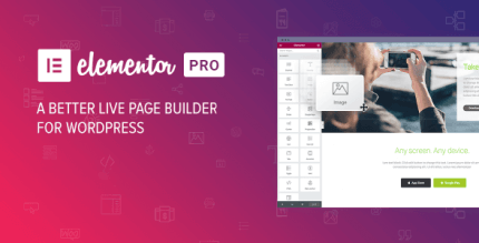 Elementor PRO 3.2.2 NULLED – WordPress Page Builder