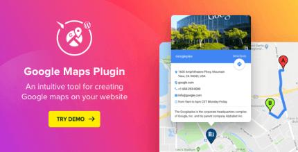 WP Google Maps 2.4.2 – Map Plugin for WordPress