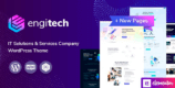Engitech 1.3 – IT Solutions & Services WordPress Theme