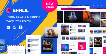 Ennlil 1.0.1 – Modern Magazine WordPress Theme