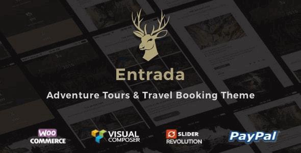 Entrada 4.4.7 – Tour Booking & Adventure Tour WordPress Theme