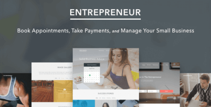 Entrepreneur 2.1.5 – Booking for Small Businesses