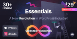 Essentials 1.2.10 NULLED – Multipurpose WordPress Theme