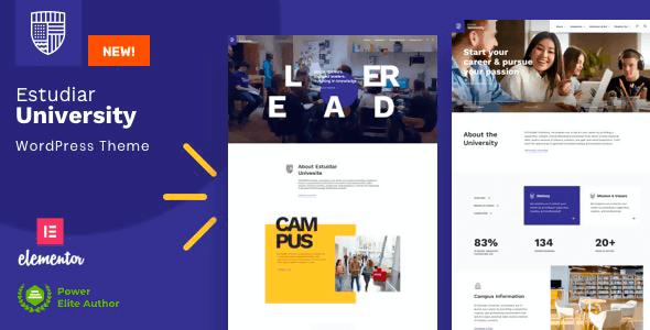 Estudiar 2 NULLED – College University WordPress