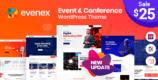 Evenex 1.4 – Event Conference WordPress Theme