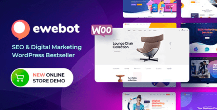 Ewebot 2.3.4 NULLED – Marketing SEO Digital Agency