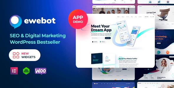 Ewebot 2.5.2 NULLED – Marketing SEO Digital Agency