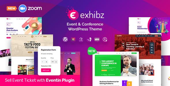 Exhibz 2.3.3 – Event Conference WordPress Theme