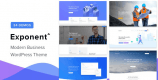 Exponent 1.2.9.0 – Modern Multi-Purpose Business WordPress theme
