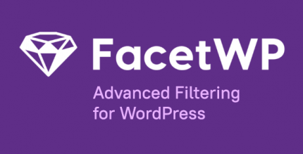 FacetWP 3.8.4 – Advanced Filtering for WordPress + All addons