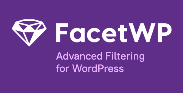 FacetWP 3.9 – Advanced Filtering for WordPress + All addons