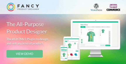Fancy Product Designer 4.6.8 – WooCommerce Plugin