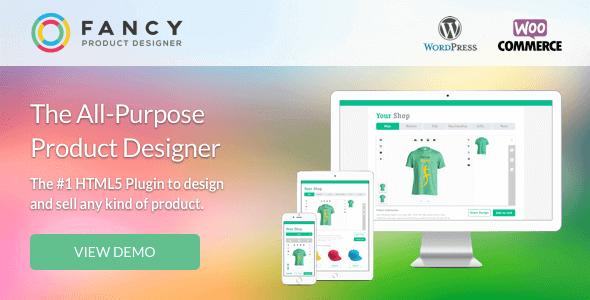 Fancy Product Designer 4.6.9 – WooCommerce Plugin