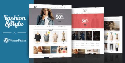 Fashion 4.3.0 – WooCommerce Responsive WordPress Theme