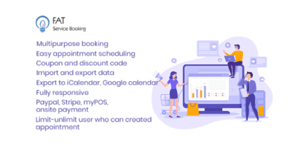 Fat Services Booking 3.7 – Automated Booking and Online Scheduling
