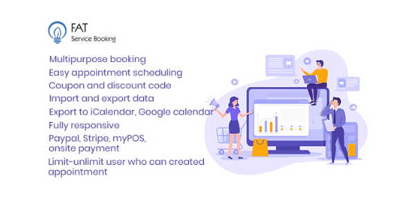 Fat Services Booking 4.0 – Automated Booking and Online Scheduling