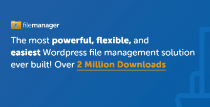 WP File Manager PRO 8.1.1 NULLED – Manage your WP files
