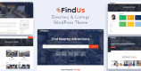 Findus 1.1.32 – Directory Listing WordPress Theme