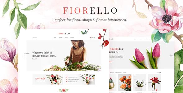 Fiorello 1.5 – Florist and Flower Shop Theme