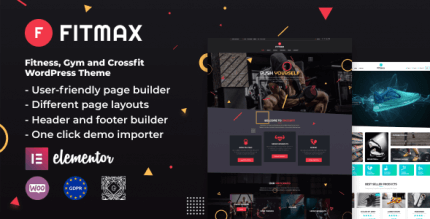 Fitmax 1.2.0 – Gym and Fitness WordPress Theme