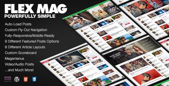 Flex Mag 3.5.0 – Responsive WordPress News Theme