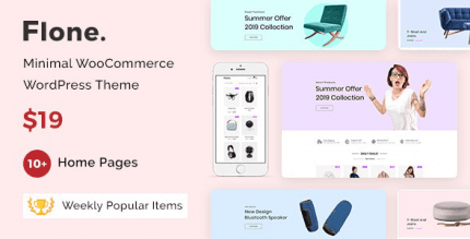 Flone 3.1.8 NULLED – Minimal WooCommerce WordPress Theme